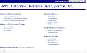using the crds web site crds 7 1 0 documentation logged in page count down timer