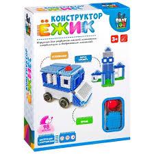 Игольчатый <b>конструктор BONDIBON Ёжик</b> ВВ2573 <b>Машина</b> и ...