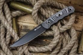 <b>Нож Echo</b> D2 BT (Черный, G10, Ножны кайдекс)