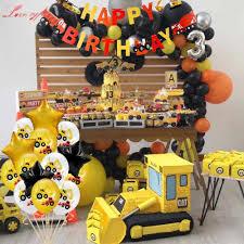 1Set <b>Dinosaur</b> Theme Foil <b>Balloons Happy</b> Birthday <b>Banner</b> Kids ...