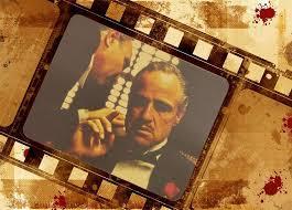 <b>The Godfather</b> Classic Old Movie Poster <b>Wall</b> Sticker <b>Retro</b> ...