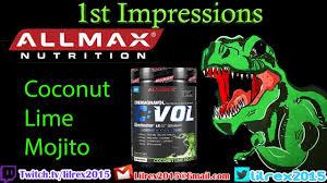 AllMax <b>CVol Post Workout</b> - Coconut Lime Mojito - YouTube