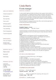 management cv template  managers jobs  director  project    editor cv  middot  events manager cv