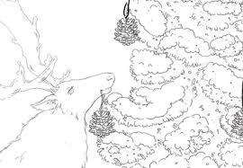 Создаём Зимнюю Иллюстрацию в программе Adobe Photoshop ...