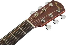 Fender Beginner <b>Acoustic</b>-Electric Guitar CF-60CE With Hardshell ...