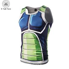 2019 <b>Men Dragon Ball</b> Z Vegeta Armor Tank Tops Bodybuilding ...