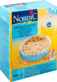 <b>Хлопья овсяные Nordic</b>, <b>500</b> г — купить в Москве в интернет ...