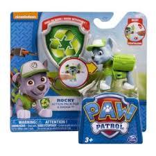 <b>Paw Patrol Фигурка спасателя</b> с рюкзаком-трансформером, в асс-те
