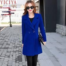 <b>YICIYA</b> women <b>Autumn Winter jacket</b> overcoat wool <b>coat</b> suits ...