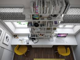 awesome two person desk home office alluring person home office design
