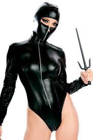 <b>Women</b> sexy costumes Black ninja cosplay costume <b>Long sleeved</b> ...