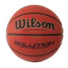 <b>Мяч баскетбольный Wilson</b> Solution B0686X купить в Москве ...