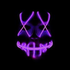 <b>Halloween Scary</b> Mask <b>Cosplay</b> Led <b>Costume</b> Mask EL Wire Light ...