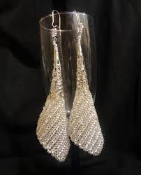 <b>Серебристые серьги</b> / <b>Серьги</b> / Biserok.org | Бисерные <b>украшения</b> ...