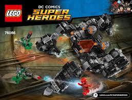 <b>LEGO 76086</b> Knightcrawler Tunnel Attack Instructions, DC Comics ...