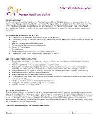 sample of licensed practical nurse resume cipanewsletter sample resume lpn