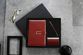 Gift for Men and Women, <b>Pen</b>, <b>Notebook</b> and <b>Business</b> Card Holder ...