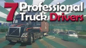 professional truck drivers their best driving skills