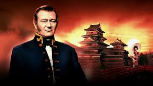 Image result for images of john wayne in the barbarian and the geisha