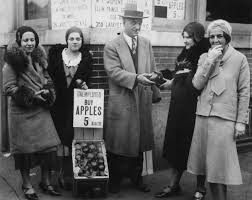 effects of the great depression apples being to unemployed people during the great depression