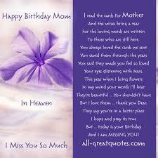 In Loving Memory Happy Birthday Mom In Heaven | Mom's and ... via Relatably.com