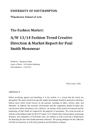 the fashion market cos by louisa kimins issuu a w 13 14 fashion trend creative direction market report for paul smith