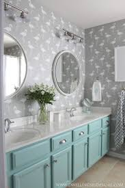 strategies modular bathroom furniture gender neutral kids bathroom with stenciled flamingo walls and painted