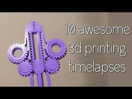 AMAZING <b>3D PRINTS</b> TimeLapse Episode 17 <b>Alfawise</b> u30 edition ...
