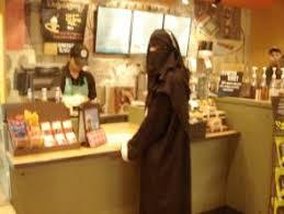 Image result for donut shop burqa