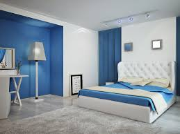 index gallery blue white contemporary bedroom interior modern