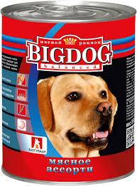 Корм для собак <b>ЗООГУРМАН</b> Big Dog <b>Мясное ассорти</b> ж/б ...