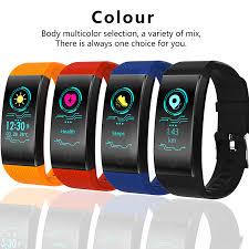 <b>New BANGWEI Fitness Smart</b> Bracelet Heart Rate Monitor Blood ...
