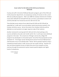 early childhood cover letters template early childhood cover letters