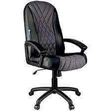 "<b>Кресло руководителя Helmi HL-E85</b> ""Graphite"", ткань TW серая ..."