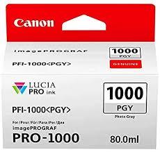 <b>Canon Pfi-1000 Pgy Photo</b> grey ink ta: Amazon.ca: Electronics