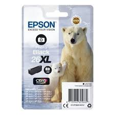<b>Картридж EPSON 26XL</b> черный фото для Expression XP-600/605 ...