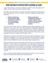 collective bargaining news ufcw local 400 print this flier pdf