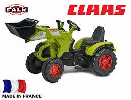 <b>Трактор</b>-<b>экскаватор Falk педальный</b> зеленый 140 см