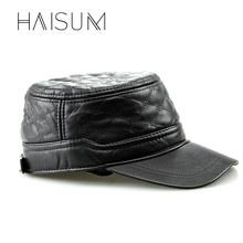 Compare prices on Genuine Leather <b>Military</b> Hats for <b>Men</b> - shop the ...