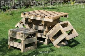 outdoor beautiful wood pallet outdoor furniture