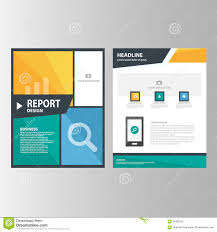 green presentation template annual report brochure flyer elements blue orange green annual report presentation template elements icon flat design set for advertising marketing brochure