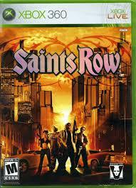 Video game:Microsoft Xbox 360 <b>Saints Row</b> — Google Arts & Culture