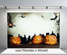 <b>5x7ft</b> Halloween Photo <b>Backdrops Dark Night</b> Pumpkin Bat Wood ...