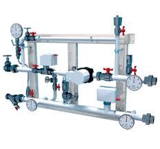 Узел регулирования водяного <b>нагревателя</b> для чистого помещения