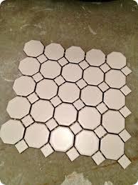 white hex tiles border