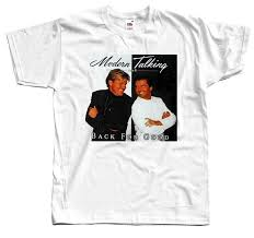 <b>Modern Talking Back</b> For Good , album cover, 1998, T SHIRT DTG ...