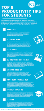 top 8 productivity tips for new students