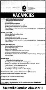 accountant receptionist telephone operator media researcher job description