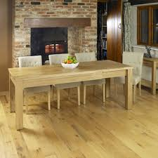 mobel extending oak dining table baumhaus mobel solid oak extra