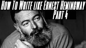 how to write like hemingway part the iceberg theory how to write like hemingway part 4 the iceberg theory